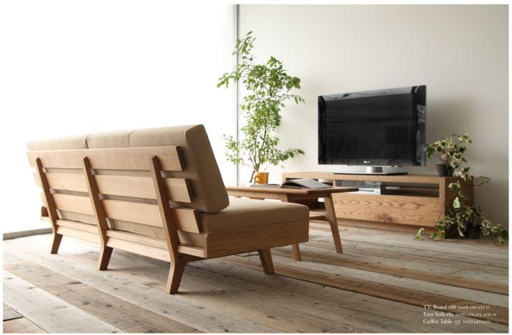 アサヒのソファとテレビボード、ローテーブルのリビングセット