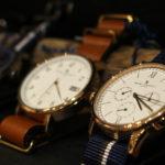 オンオフどちらもオシャレに!イギリス発のナイロンベルト腕時計。