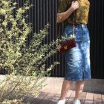 デニムタイトスカートで大人スタイルが作れる!?