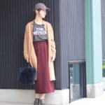 カジュアルなのに女っぽくキマるタイトスカートコーデ