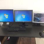 デュアルモニターの新作パソコンで仕事効率UP!!