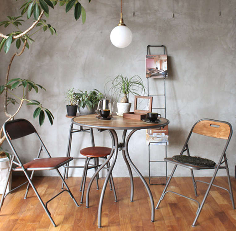 in-noce round cafe table/ インノーチェカフェテーブル