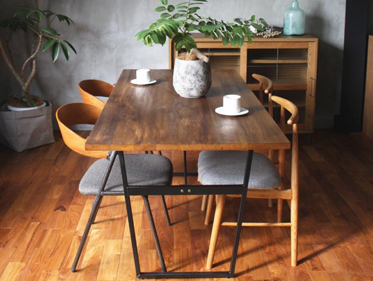 splem dining table 1800 BR color/スプレム ダイニングテーブル 1800 ブラウンカラー