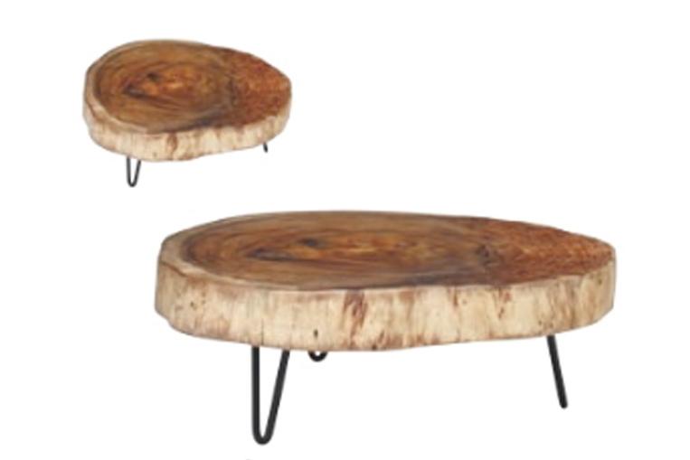 ROOMESSENCEのウッドテーブルの写真