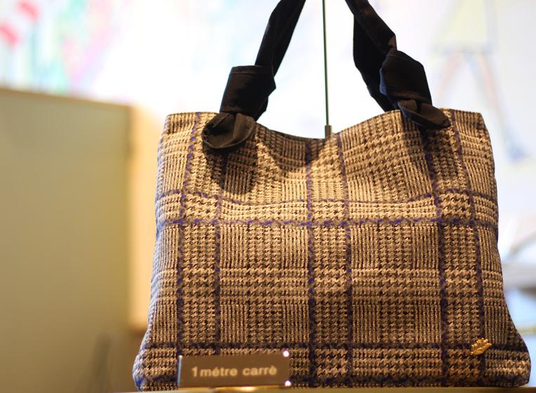 アンメートルキャレのチェック柄秋冬の新作バッグ