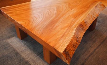 一枚板の和室用テーブル