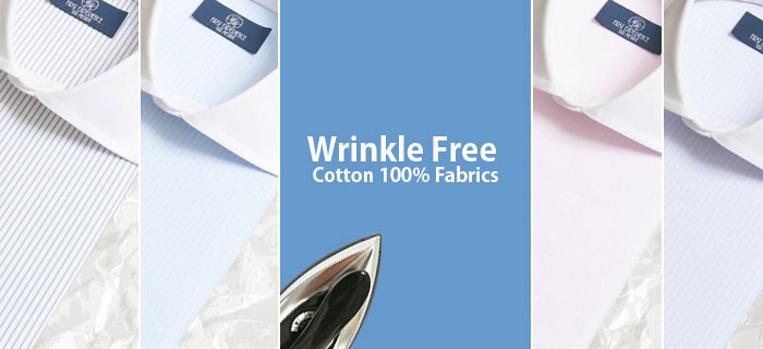 Wrinkle Free / リンクルフリーのブランドロゴ