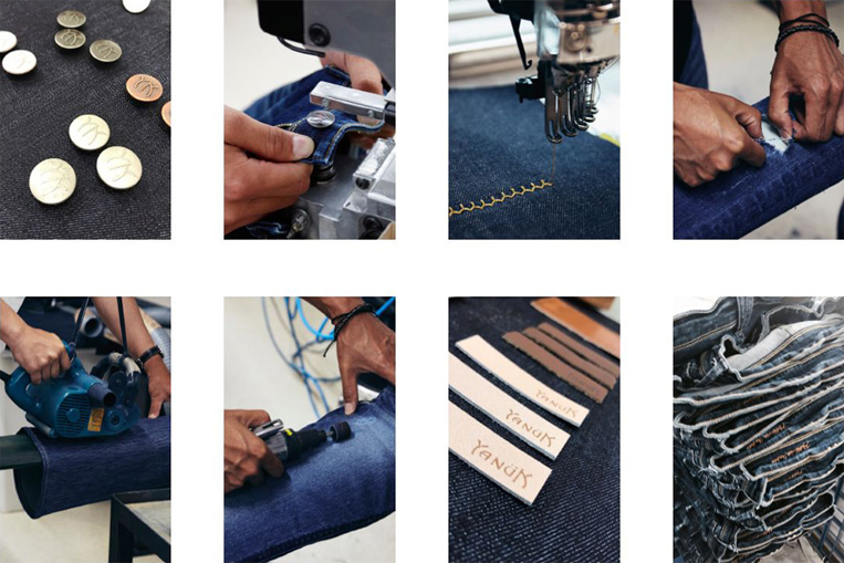 Yanuk縫製工場写真
