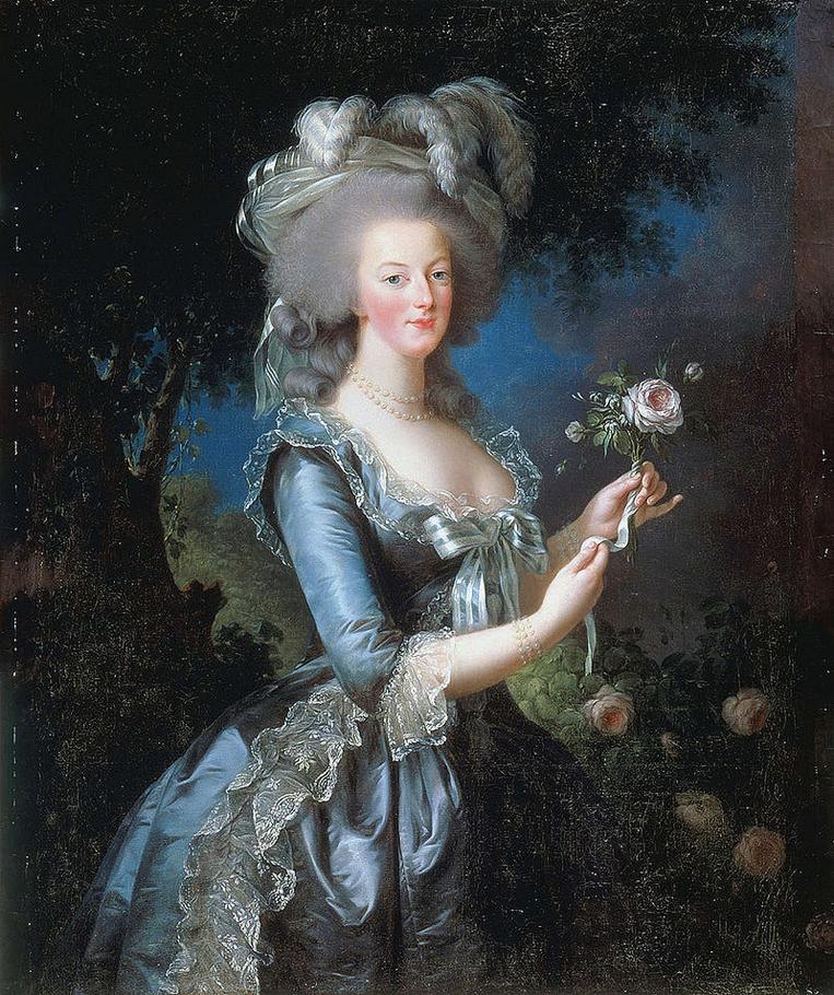 ママリーアントワネットの肖像画