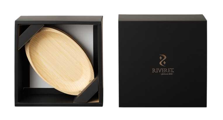 RIVERETのパッケージデザイン
