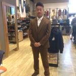 【ブラウンスーツ】愛知県春日井のオーダースーツ専門店