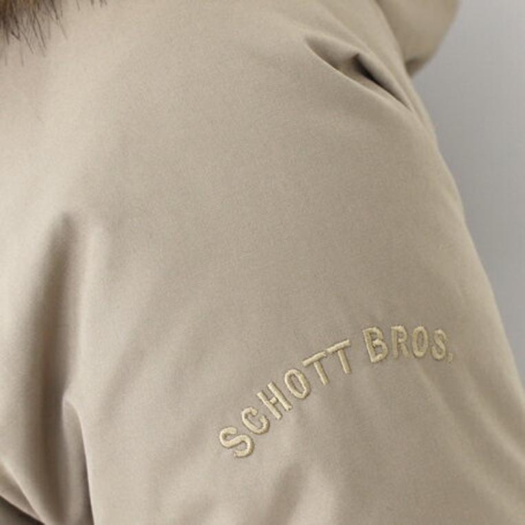 左袖「SCHOTT BROS.」の刺繍