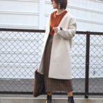 【冬のオシャレはアウターが9割!】Mantecoノーカラーコート