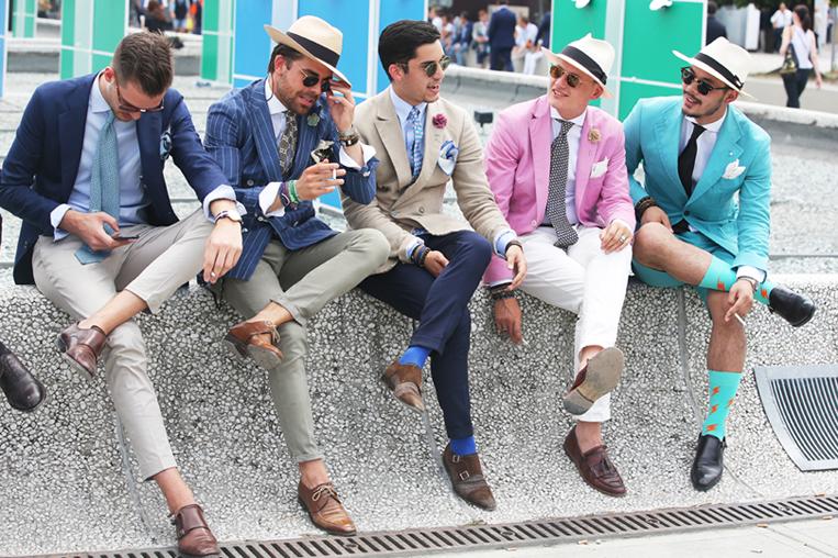 5人のイタリア人男性