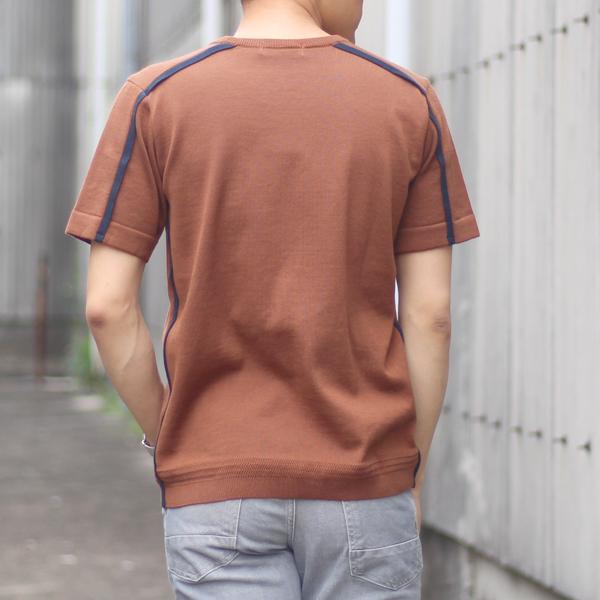 """Alcottオリジナルブランド""""Loungie / ラウンジ""""のサイドラインニット"""