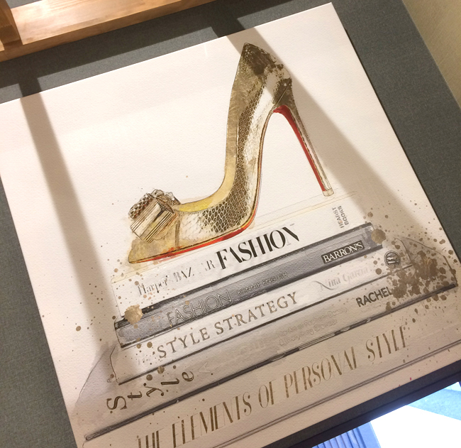 GOLD SHOE AND FASHION BOOKS