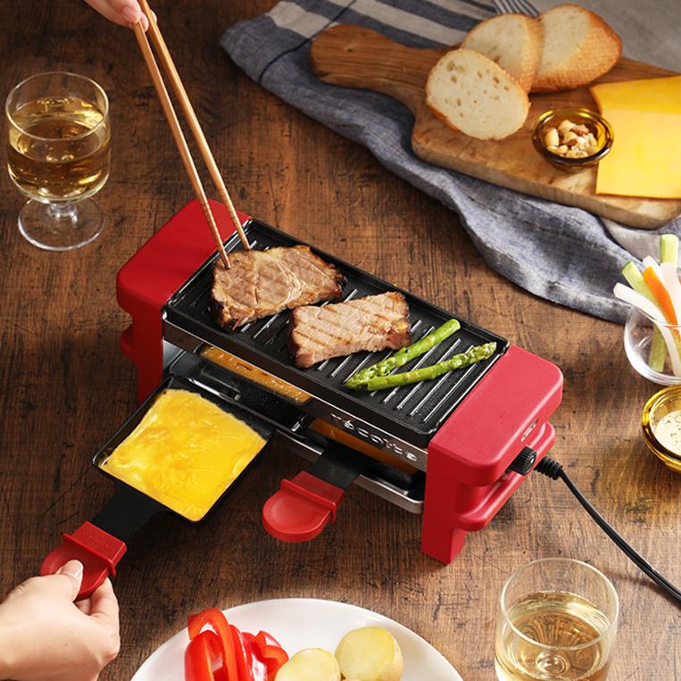 recolte / レコルトのラクレット&チーズフォンデュメーカー メルト