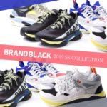 """【2020年メンズトレンドスニーカー】L.A発""""BRAND BLACK/ブランドブラック"""""""