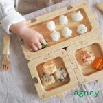 【乳児/幼児の為に選ぶ天然素材の食器】アグニー