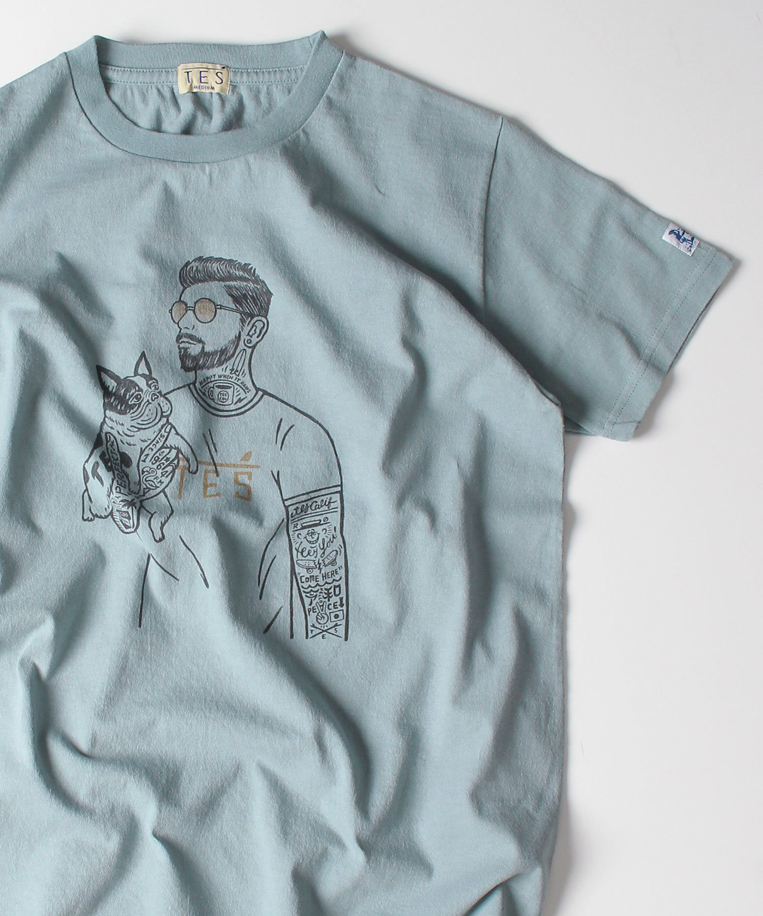TESマリブスターTシャツ