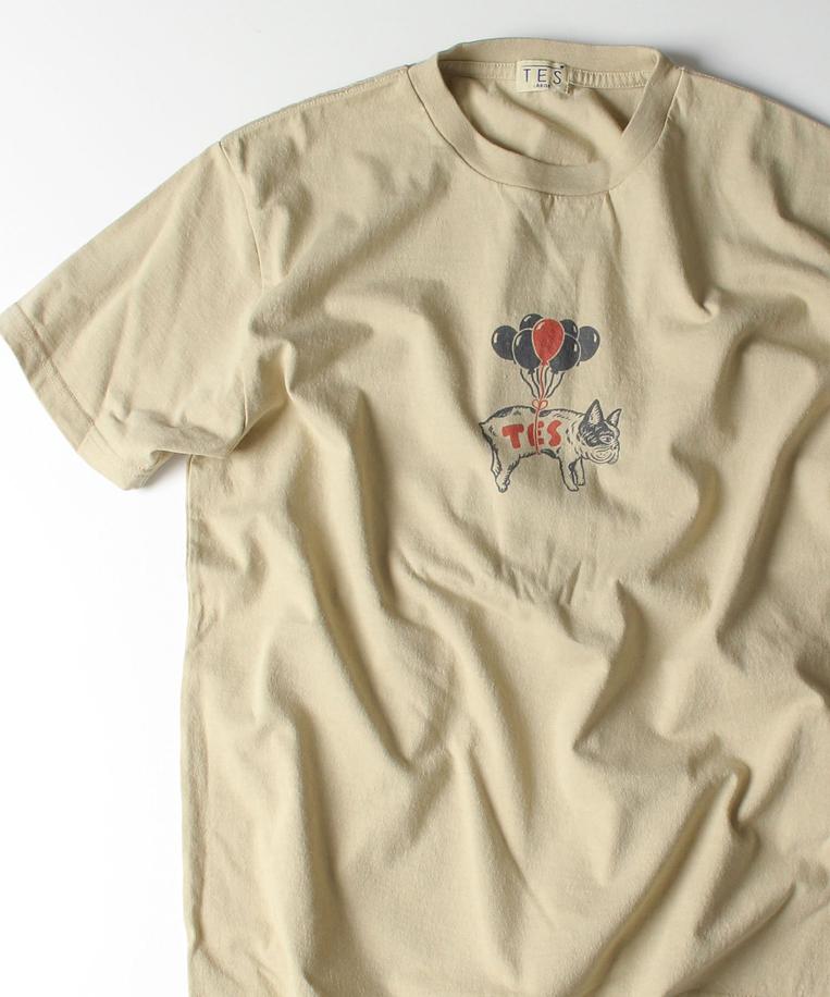 TESのバルーンBUHITシャツ