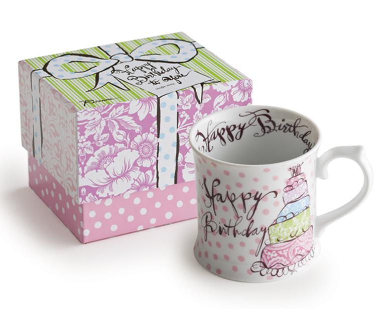 Happy Birthdayシリーズのマグカップ