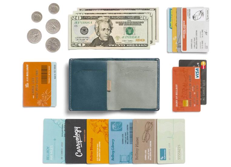 お札や小銭やカード