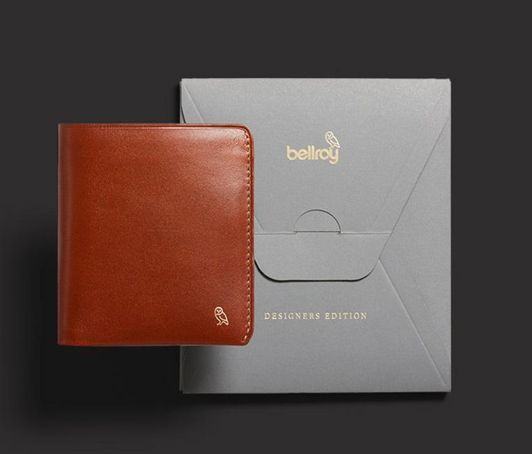 ベルロイの財布とパッケージ