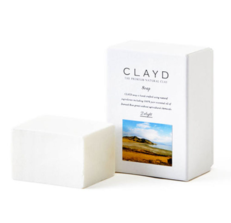 CLAYD/クレイドのCLAYD SOAP - Damask Rose -