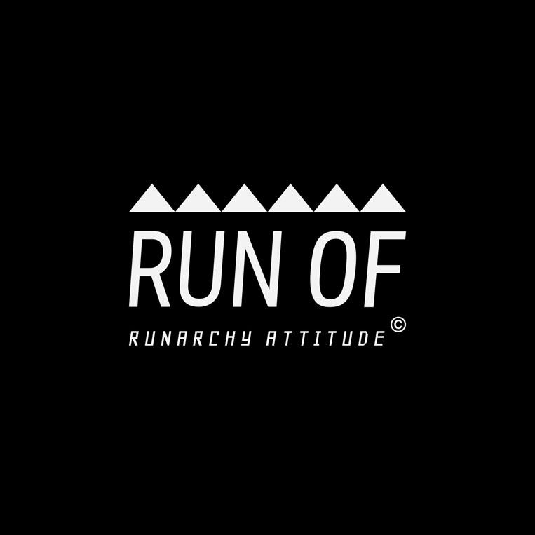 RUN OFのブランドロゴ