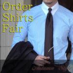 オーダーシャツがお得に買える!Alcottオーダーシャツフェア