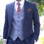 【自分だけの一着をオーダーで作る】スーツスタイルを格上げするお洒落なベスト作例