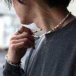 "【ampjapan新作】2021春夏メンズトレンドの""パールアクセサリー"""