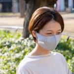 夏のマスクを快適に!完売続出!マスク用扇風機『マスクエアーファン』