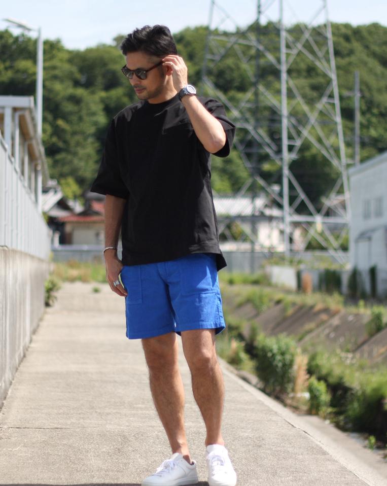 30、40代メンズの短パンは「Big John/サマーコールビーチショーツ」がおすすめ!